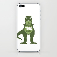Amourosaurus iPhone & iPod Skin by David Olenick