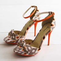 Twisted Vines Ikat Heels, Sweet Wedding & Bridesmaid Shoes