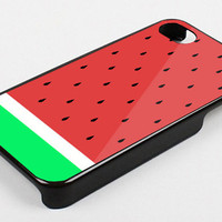 WATERMELON - iPhone 4 Case, iPhone 4s Case and iPhone 5 case Hard Plastic Case KK