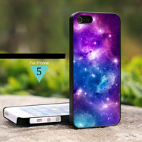 Space Galaxy Colorfull Nebula - For iPhone 5 Case, Hard Cover