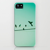 Life on the wire iPhone & iPod Case by Priyanka Nayar