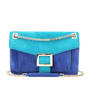 mytheresa.com -  Roger Vivier - SUEDE METRO SHOULDER BAG  - Luxury Fashion for Women / Designer clothing, shoes, bags