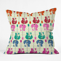 DENY Designs Home Accessories | Sharon Turner Candy Rock Outdoor Throw Pillow