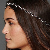 Gypsy Junkies  Leather Swarvoski Headwrap at Free People Clothing Boutique