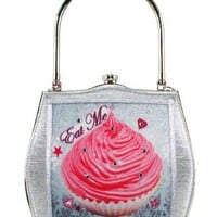 Helen Rochfort Handbag EAT ME DRINK ME - limited edition -:Amazon:Shoes & Accessories
