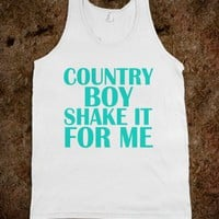 COUNTRY BOY SHAKE IT FOR ME - UNDERLINEDESIGN