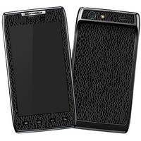 Textured Black Emulsion Skin  for the Droid RAZR by skinzy.com