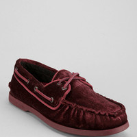 Urban Outfitters - Sperry Top-Sider 2-Eye Velvet Boat Shoe