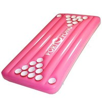 PortOPong Inflatable Floating Pool Beer Pong Table - Pink:Amazon:Toys & Games