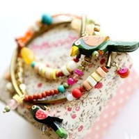 Colorful Tropical Fish Fashion Bracelet | LilyFair Jewelry