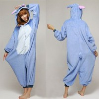 Triline Cosplay Halloween Romper HOT Disney Stitch Costume party Pajamas Unisex costume Kigurumi Pajamas Sleepwear stitch / L: Amazon.co.uk: Toys & Games