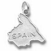 Spain Charm - 14k Yellow Gold