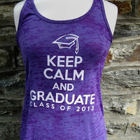 Sale, Sale, Sale --  Purple Graduation Tank
