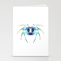 Smoke Spider 2 Stationery Cards by Steve Purnell