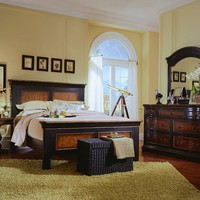 Preston Ridge King Panel Bed