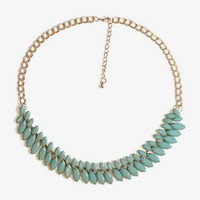 Marquis Faux Stone Necklace | FOREVER 21 - 1021414877