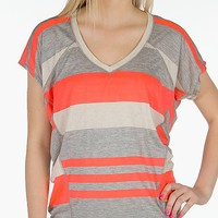 Daytrip Striped Top - Women's Shirts/Tops | Buckle