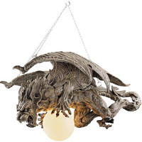 Nightfall Sculptural Gargoyle Chandelier - CL3576