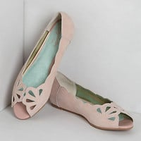 Mariposa Scalloped Peep-Toes