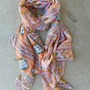 Native Rivers Scarf in Pastel [3956] - $18.00 : Vintage Inspired Clothing & Affordable Summer Frocks, deloom | Modern. Vintage. Crafted.