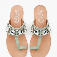 Please Jeweled Sandal
