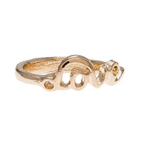 *MKL Accessories The Love Knuckle Ring in Gold : Karmaloop.com - Global Concrete Culture