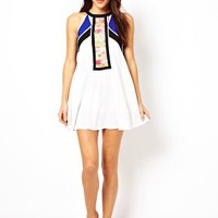 River Island Micha Urban Ella Beach Dress at asos.com
