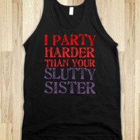 Slutty Sister - Reddicks - Skreened T-shirts, Organic Shirts, Hoodies, Kids Tees, Baby One-Pieces and Tote Bags