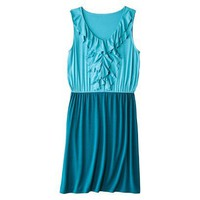 Target : Merona® Women's Ruffle Front Elastic Waist Dress - Assorted Colors : Image Zoom