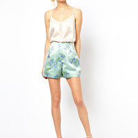 ASOS Shorts in Luxe Fabric