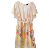 Target : Mossimo® Women's Multicolored Print Kimono Dress with Front Tie : Image Zoom