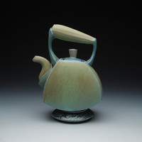 Ceramic Tea Pot by Frank Saliani: Ceramic Teapot - Artful Home