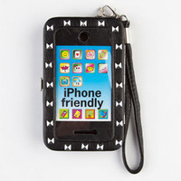 Pyramid Stud Phone Wallet