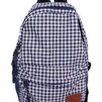Carrot J-73441 Gingham Backpack:Amazon:Clothing