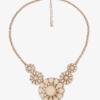 Flower Pendant Necklace | FOREVER 21 - 1044238203
