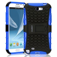 Duzign Sentinel Snap On Case (Blue) for the Samsung Galaxy Note II Note 2:Amazon:Cell Phones & Accessories