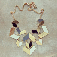 Pree Brulee - Picasso Art Necklace