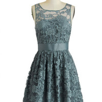 BB Dakota When the Night Comes Dress in Smoke | Mod Retro Vintage Dresses | ModCloth.com