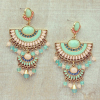 Pree Brulee - Peruvian Princess Earrings