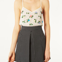 Bright Flower Cami Top - Tops - Clothing - Topshop USA