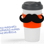 MAGSTACHE MOUSTACHE TRAVEL MUG