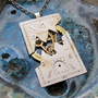 "Watch Dial Pendant ""Fault"" Reconstructed Watch Parts Necklace Recycled Upcycled Gear Art Steampunk by A Mechanical Mind"