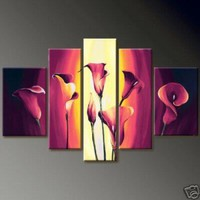 Modern Abstract Huge Canvas Oil Painting97 | donspricly - Painting on ArtFire