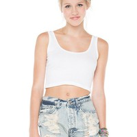 Brandy ♥ Melville |  Destroyed Denim Shorts