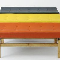 U 620 upholstered bench, Jens Risom furniture from Rocket, London