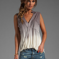 Young, Fabulous & Broke Alexis Top in Grey Ombre from REVOLVEclothing.com