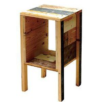CIBONE Scrapwood Side Table