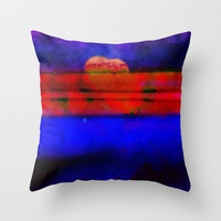 Layers of Love 101 Throw Pillow by Gréta Thórsdóttir