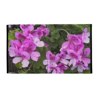 Pink Geraniums iPad Case from Zazzle.com