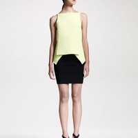 Alexander Wang Compact-Knit Peplum Top & Pencil Skirt